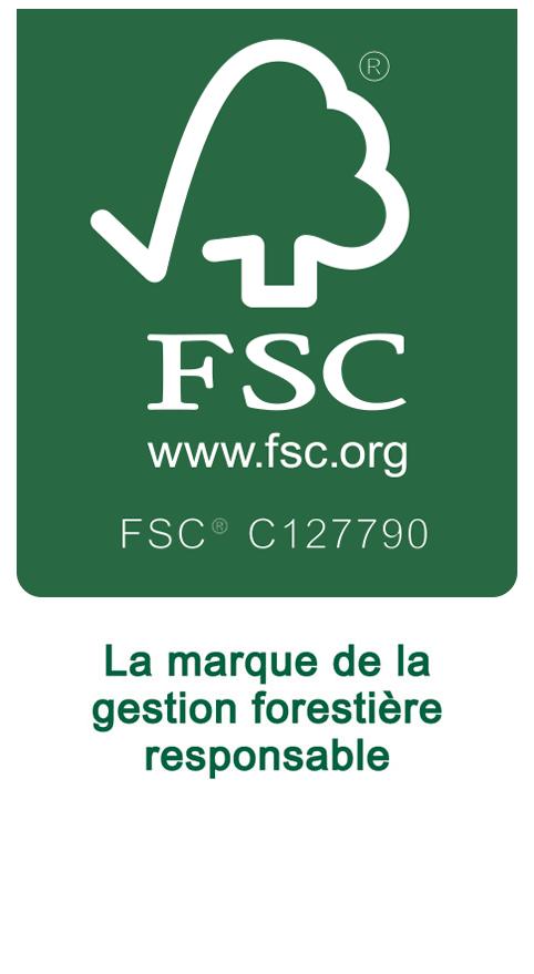 logo FSC environnement imprimerie Lefefre